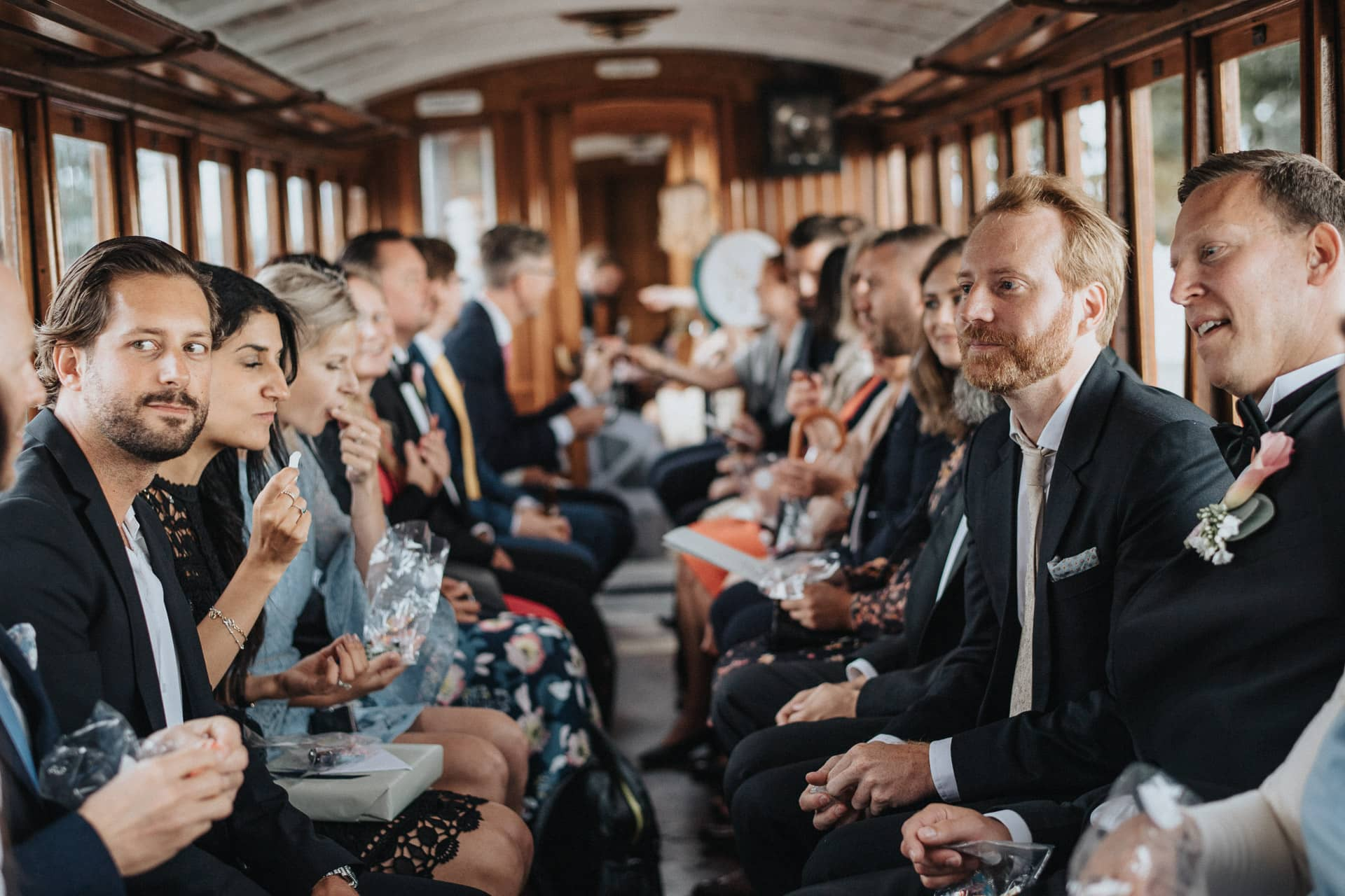 bröllop tåg åsgård